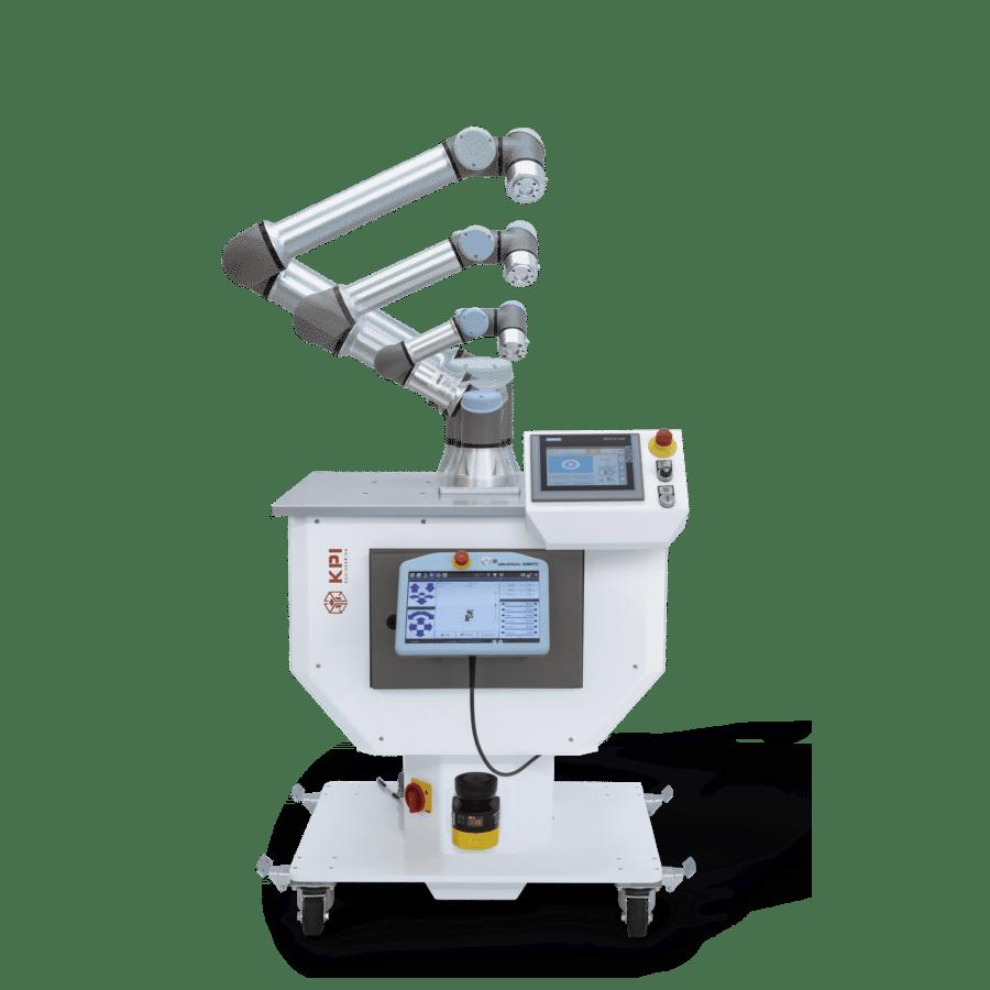 V-Kompakt Roboterzelle fürUR3e UR5e UR10e