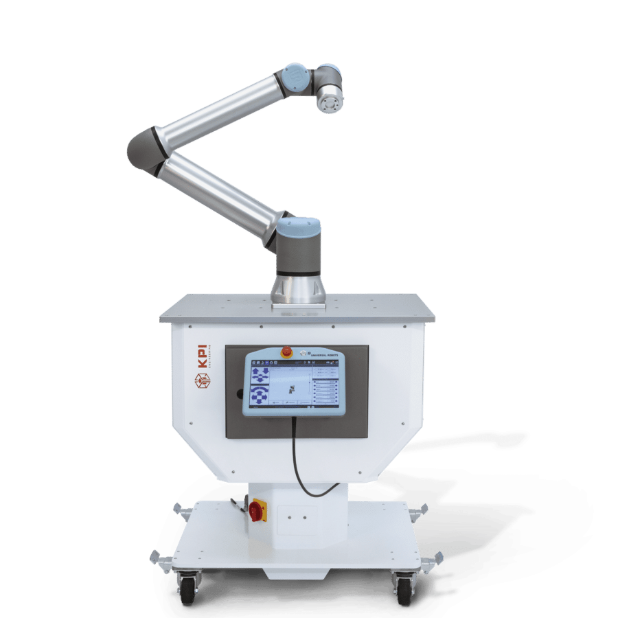 Modulare Roboterzelle V-Kompakt von KPI Engineering