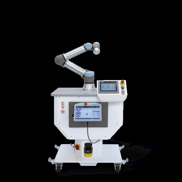 Cobot-Zelle für UR5e mit Siemens Touchpanel