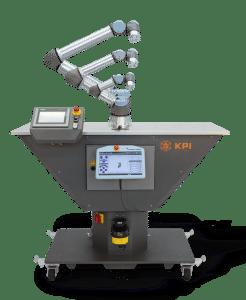Roboterzelle V-Klassik mit 3 UR Robotern