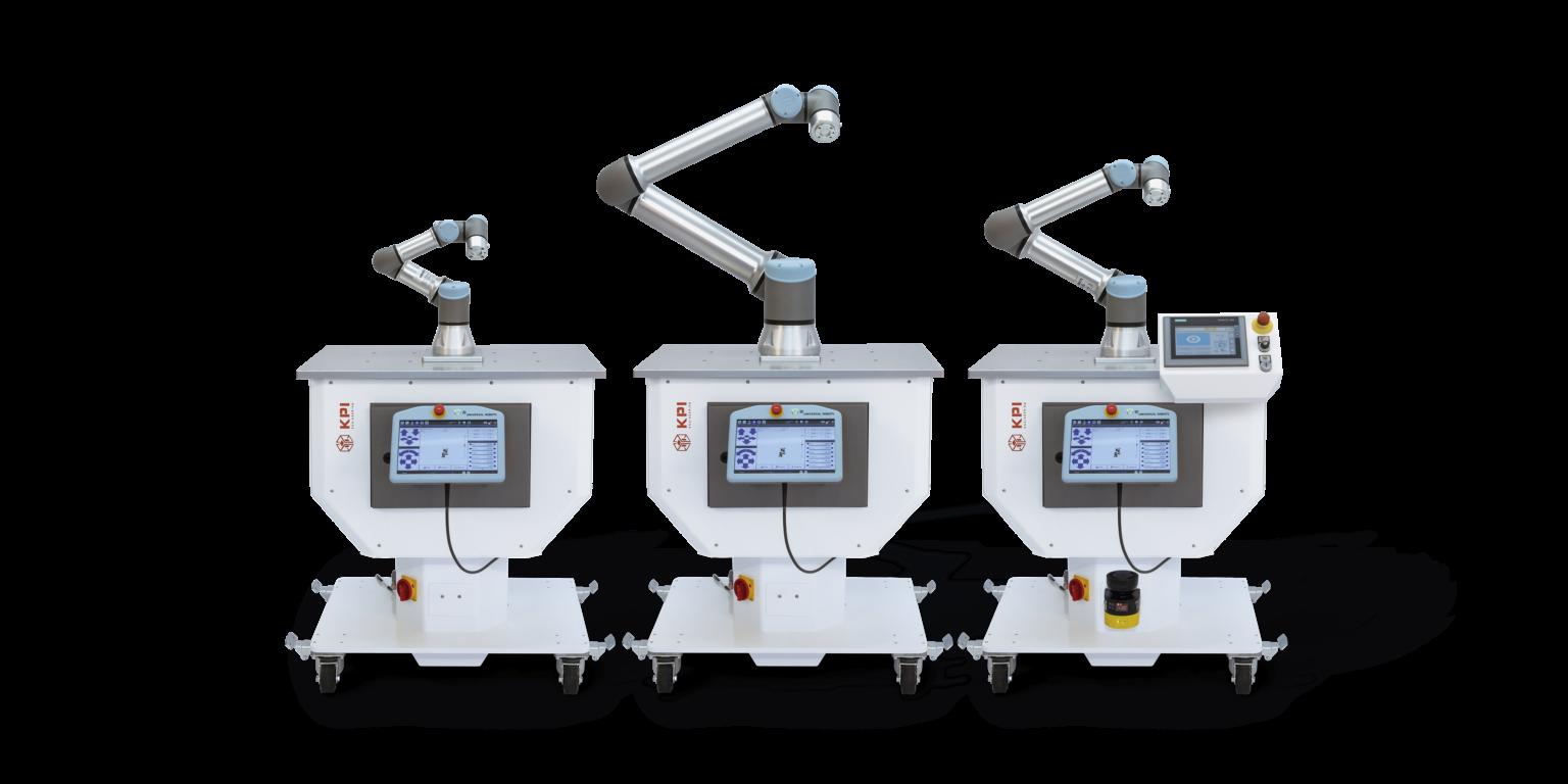 Mobile Cobotzelle, Robotersysteme UR10e UR5e UR3e Ur16e
