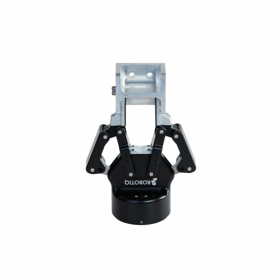 Robotiq Elektrogreifer mit gespanntem Werkstück