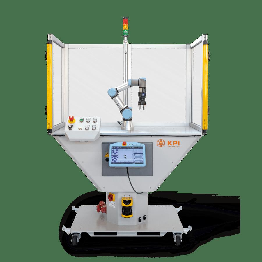 Schulungszelle für Roboter mit CE-Kennzeichnung für Hochschulen und Ausbildung
