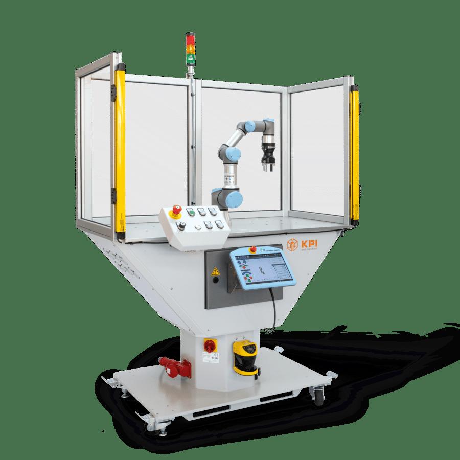 Schlungszelle für Cobots und Leichtbauroboter für Ausbildungsbetriebe / betriebliche Ausbildung