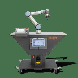 Roboterzelle für Cobots und Leichtbauroboter mit UR5e und AirPick