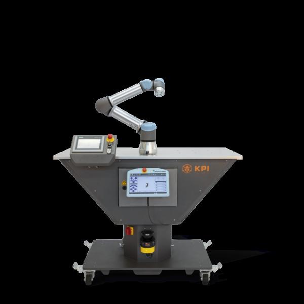 Mobile Roboterzelle mit Bereichsscanner von Sick