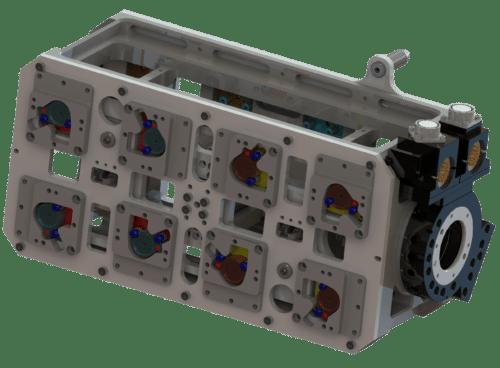 SGM Roboter Greifer für Fanuc, Stäubli oder Kuka mit Schunk Schnellwechselsystem