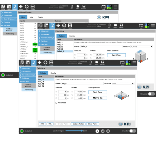 URCaps KPI Software UR+ für Universal Robots e-Series