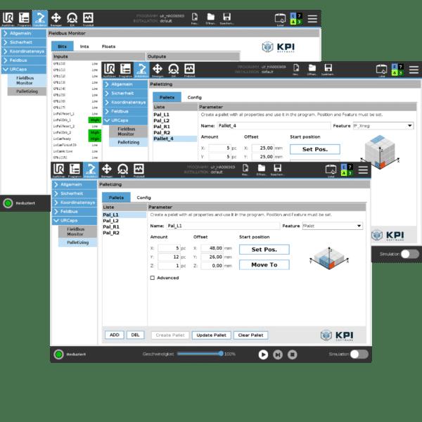 UR-Caps und Software