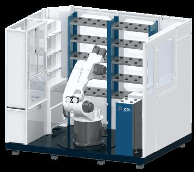 Automatisierung Maschinenbeschickung Kuka, Stäubli, Fanuc Roboter KR30 KR16 Industrieroboter