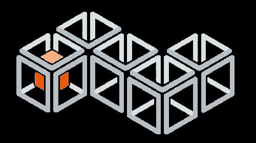 KPI Engineering Logo Muster mit Würfel