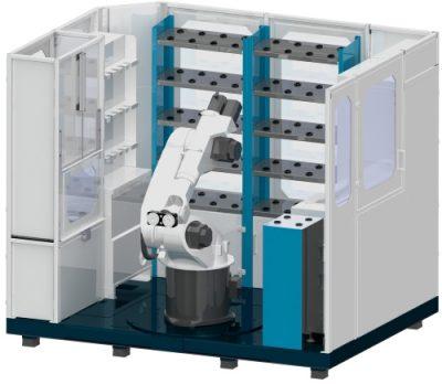 Automatisierung Maschinenbeschickung Kuka Roboter KR30 KR16 Industrieroboter