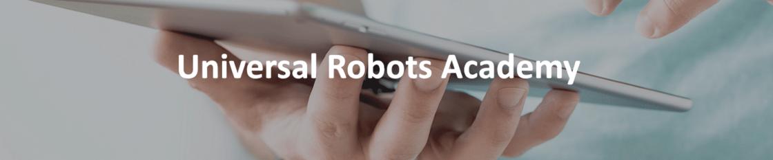 Universal Robots Academy UR Roboter Online Schulung
